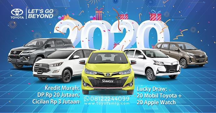 Spesial Promo Tahun Baru 2020 Toyota Kartika Sari Malang Dealer Mobil Toyota Malang